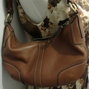 Coach Bags - Coach Hobo Brown Leather